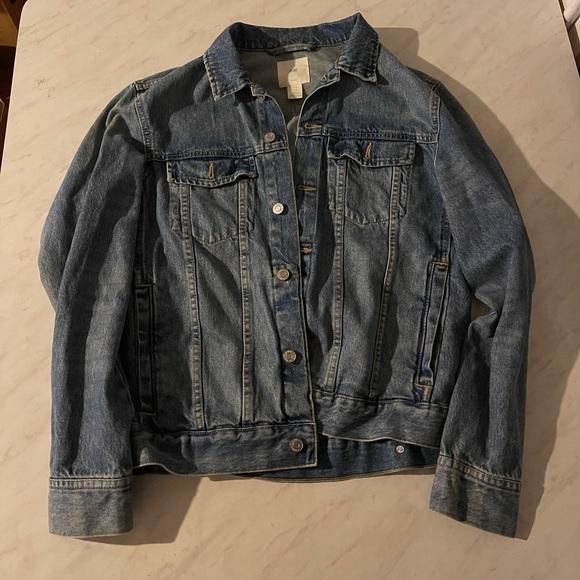 Men's Denim Jacket H&M Blue Size Medium Excellent!